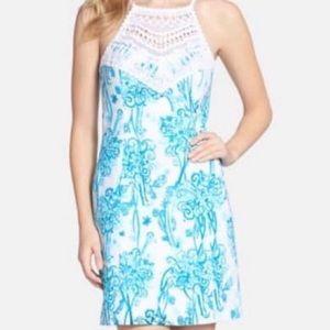 Lilly Pulitzer Pearl Crochet Dress Sz 0